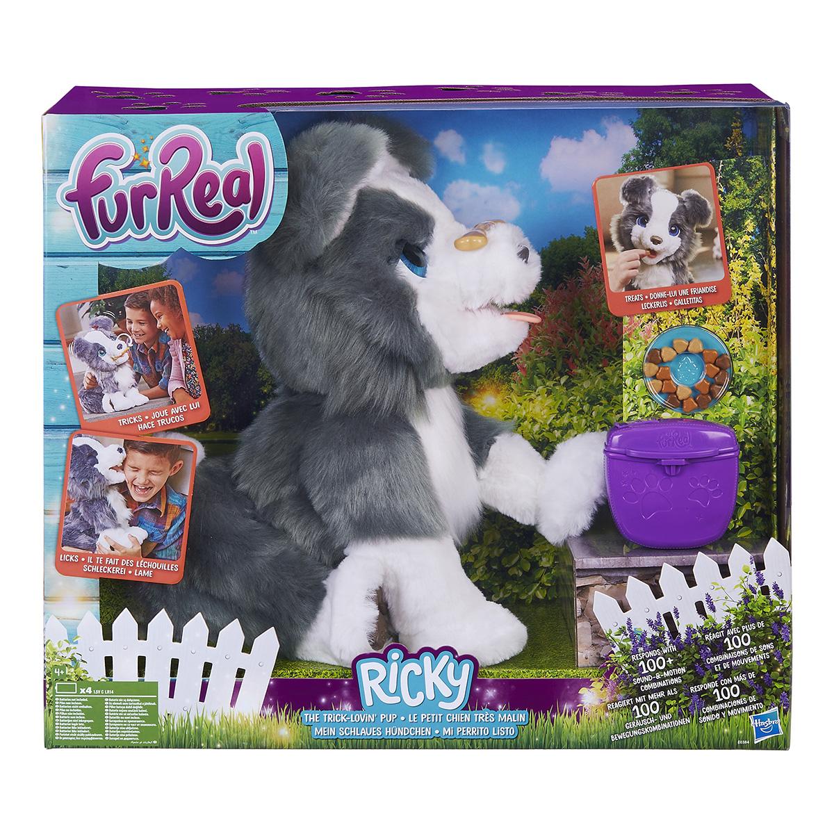 Image of   FurReal interaktiv hund - Ricky The Trick-lovin Pup