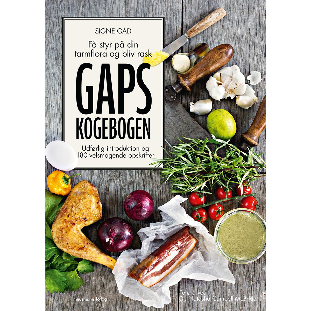 Image of   GAPS-kogebogen - få styr på din tarmflora og bliv rask - Hardback