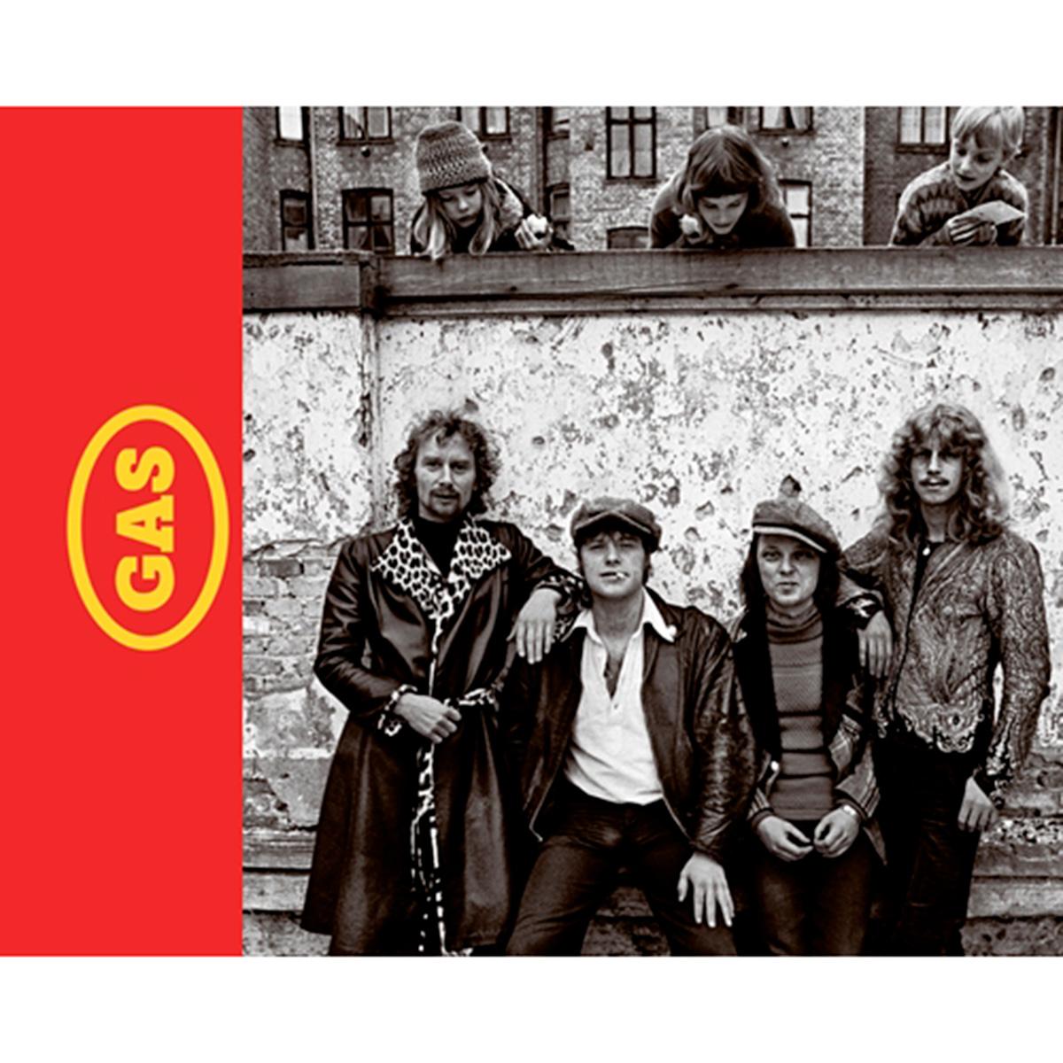 Image of   Gas - Verdens bedste danske rockband - Indbundet