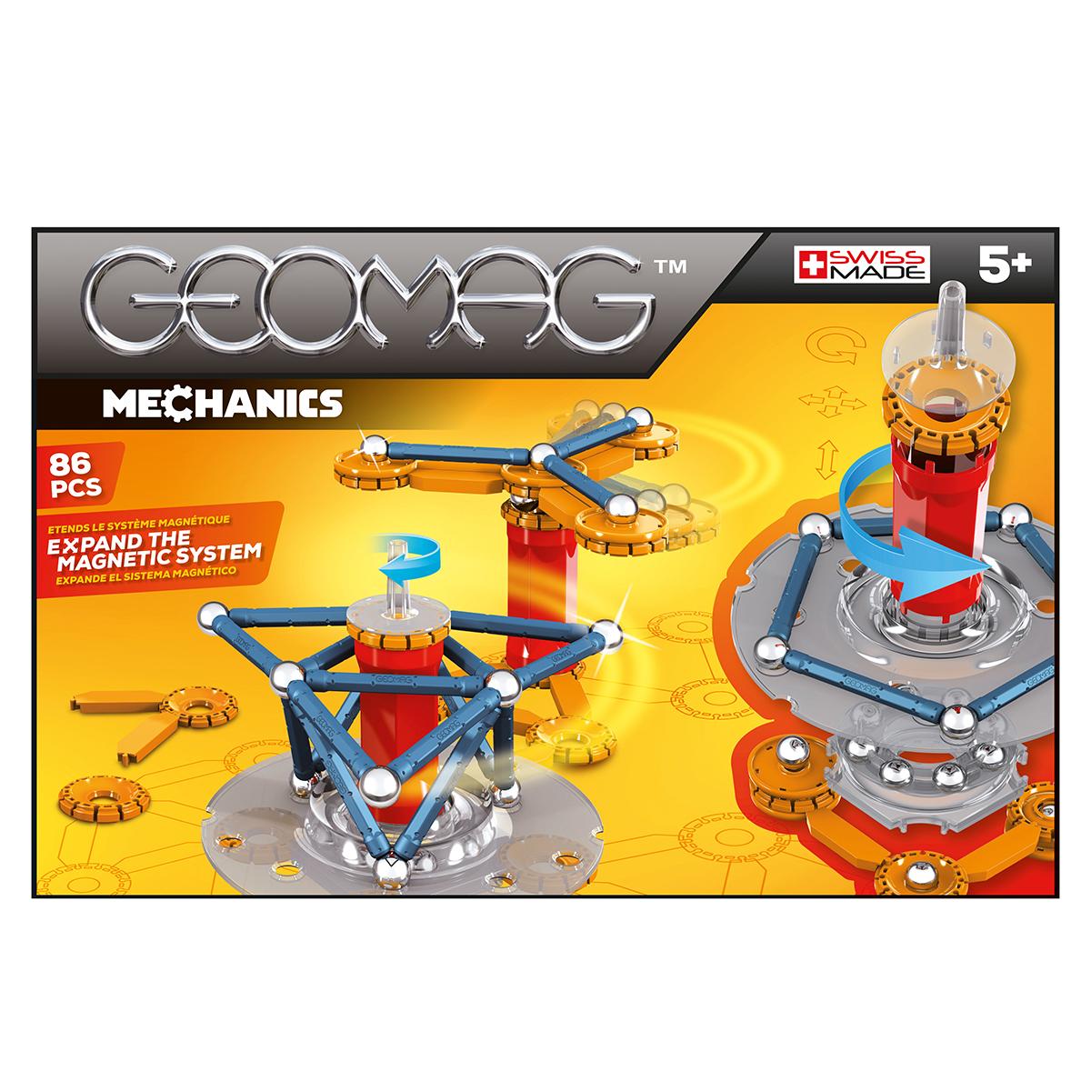 Image of   Geomag byggesæt - Mechanics - M2 - 86 dele
