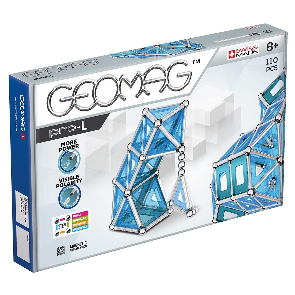 Image of   Geomag byggesæt - Pro-L - 110 dele