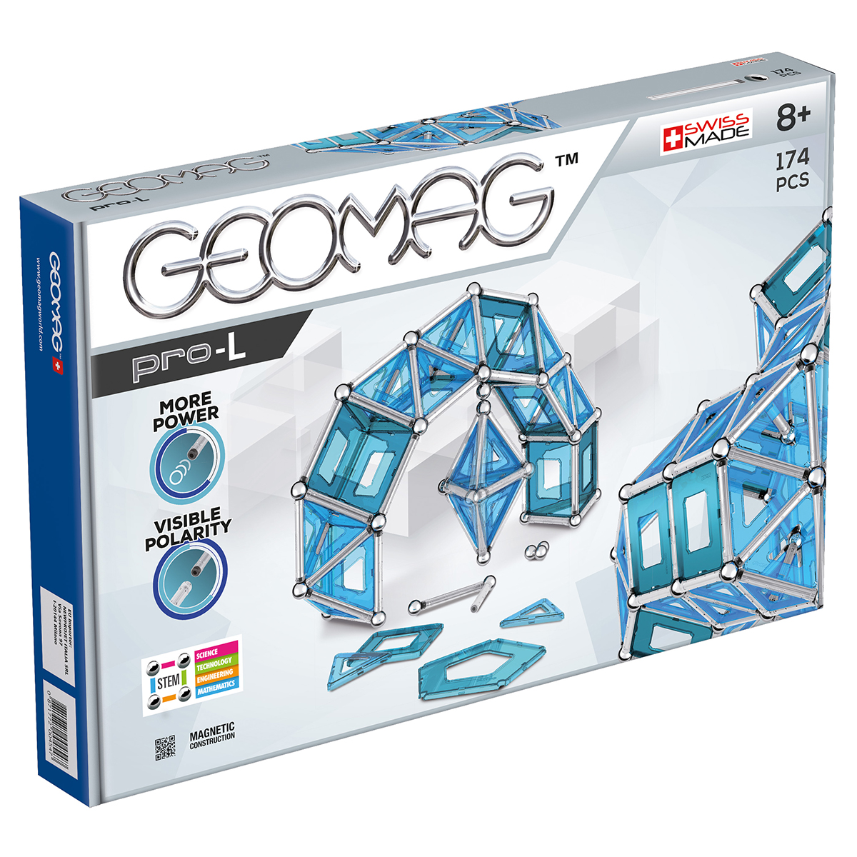 Image of   Geomag byggesæt - Pro-L - 174 dele