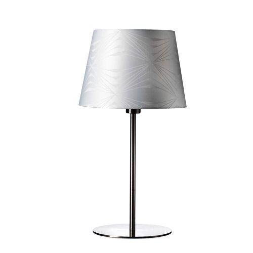 georg jensen damask bordlampe krystal hvid h 56 cm. Black Bedroom Furniture Sets. Home Design Ideas