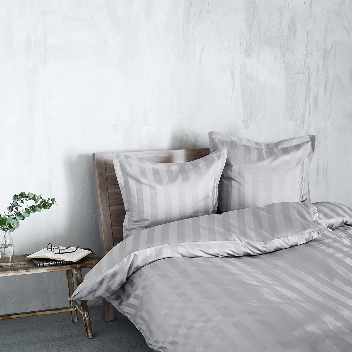 Billede af Georg Jensen Damask sengetøj - Vertical - Grå