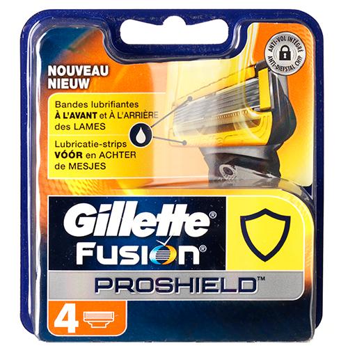 Billede af Gillette Fusion Proshield 4-pak
