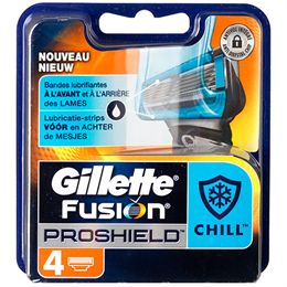 Billede af Gillette Fusion Proshield Chill 4-pak