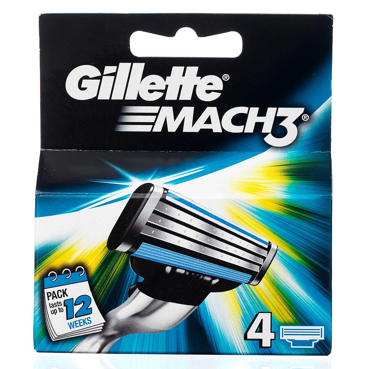 Billede af Gillette Mach 3, 4 pack