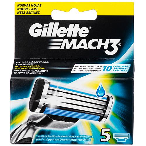 Billede af Gillette Mach3 5-pak