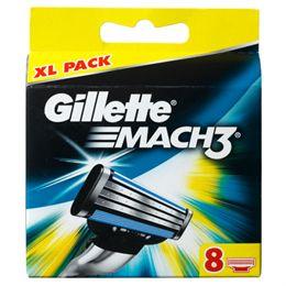 Gillette Mach3 8-pak