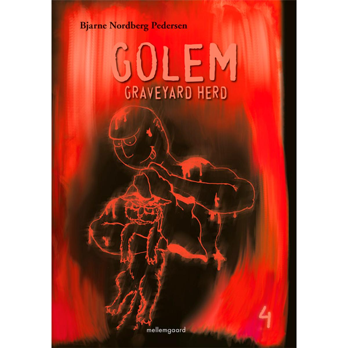 Golem - Graveyard Herd 4 - Hæftet