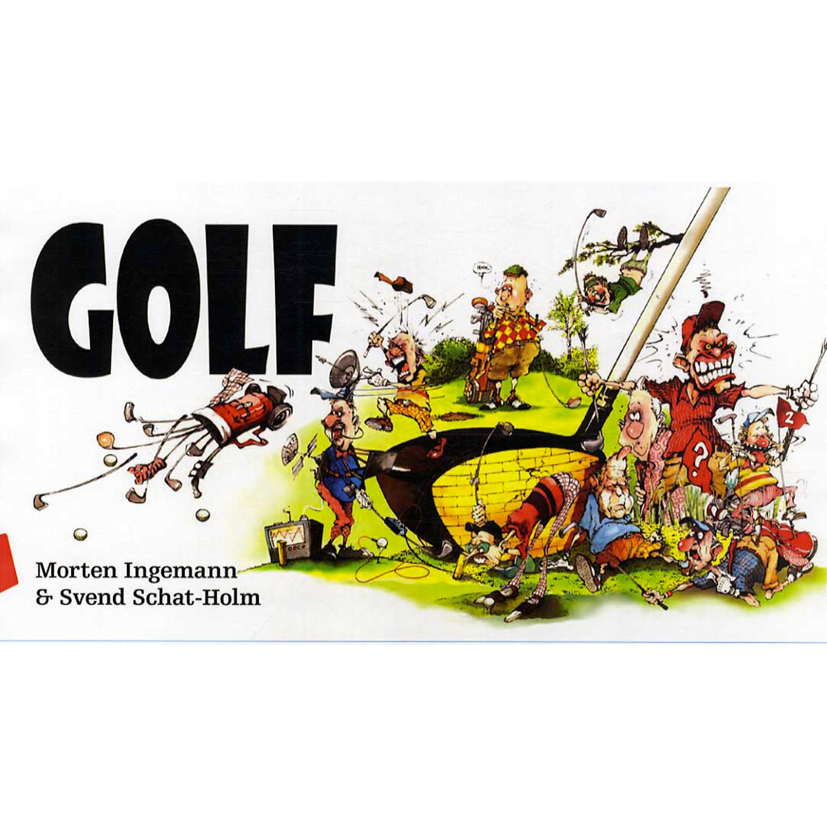 Image of   Golf - Indbundet