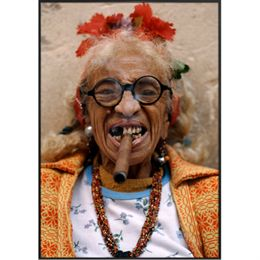 Image of   Grand Old Lady plakat i ramme