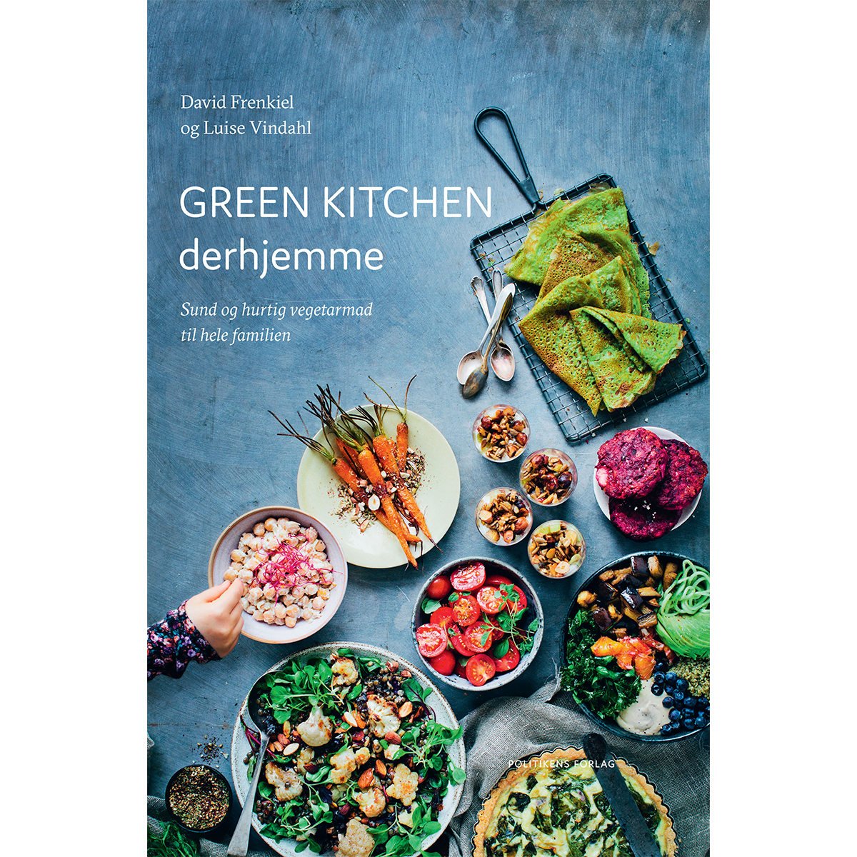 Image of   Green kitchen derhjemme - Indbundet