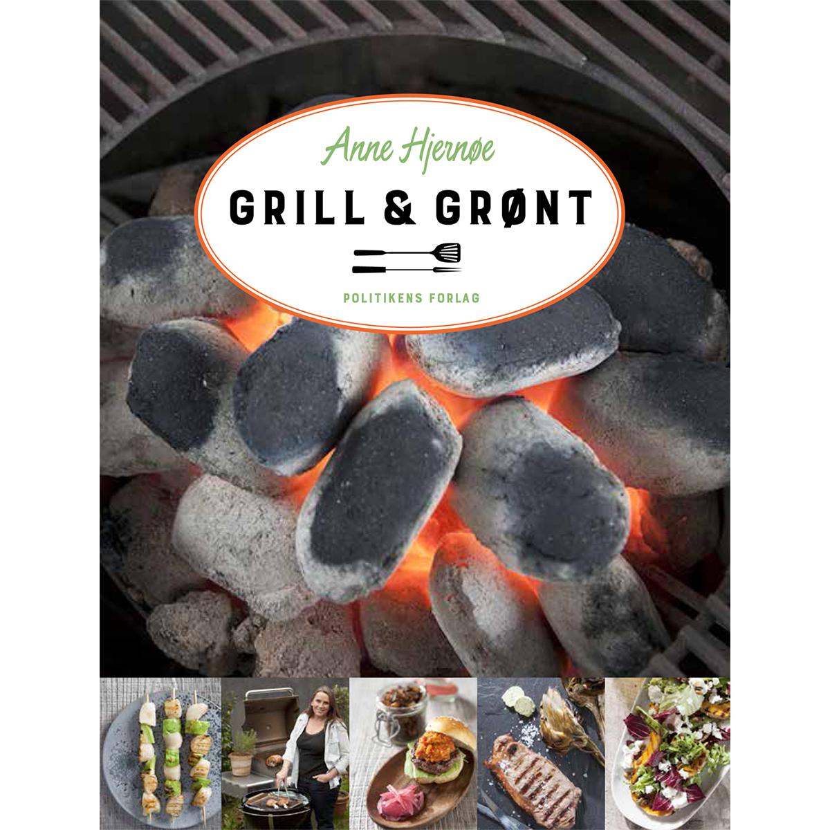 Image of   Grill & grønt - Indbundet