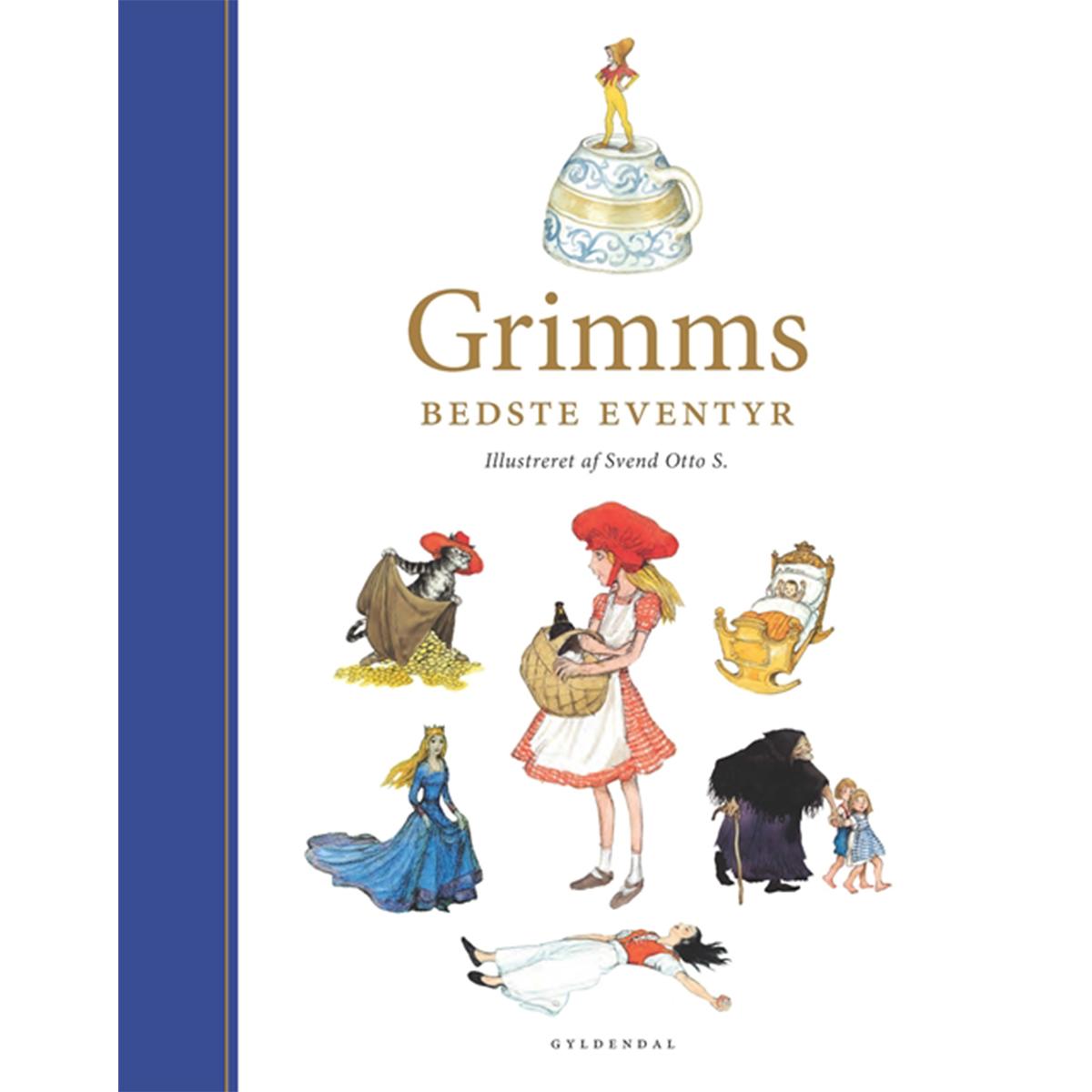 Image of   Grimms bedste eventyr - illustreret af Svend Otto S - Indbundet