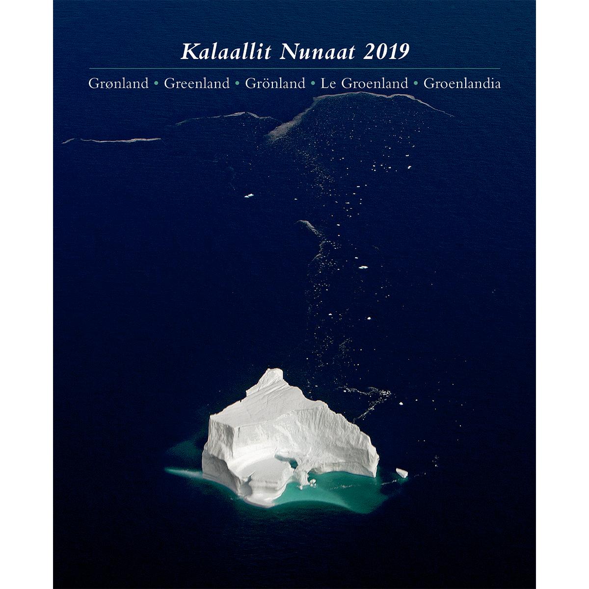 Image of   Grønlandskalenderen 2019 - Spiralryg