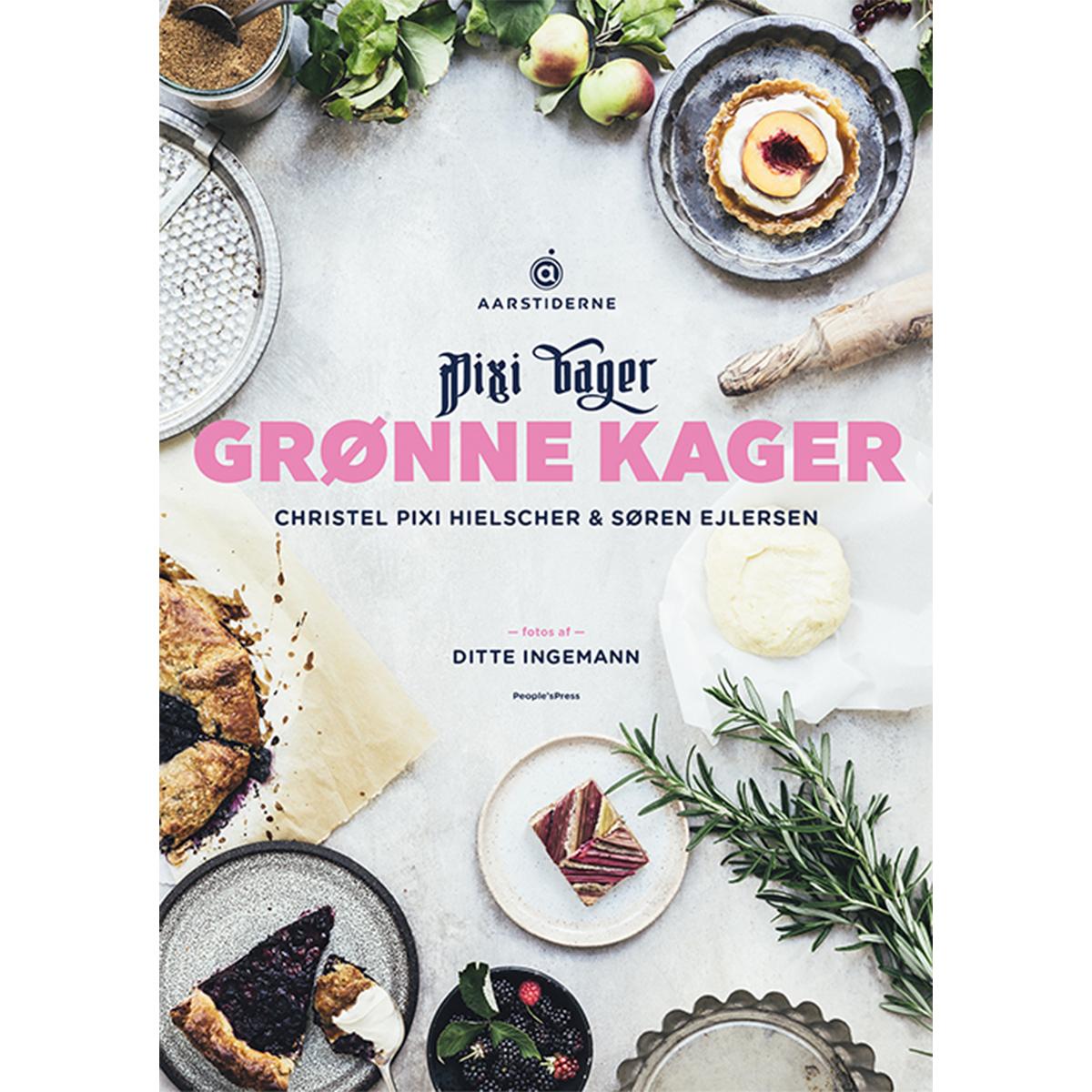 Image of   Grønne kager - Indbundet