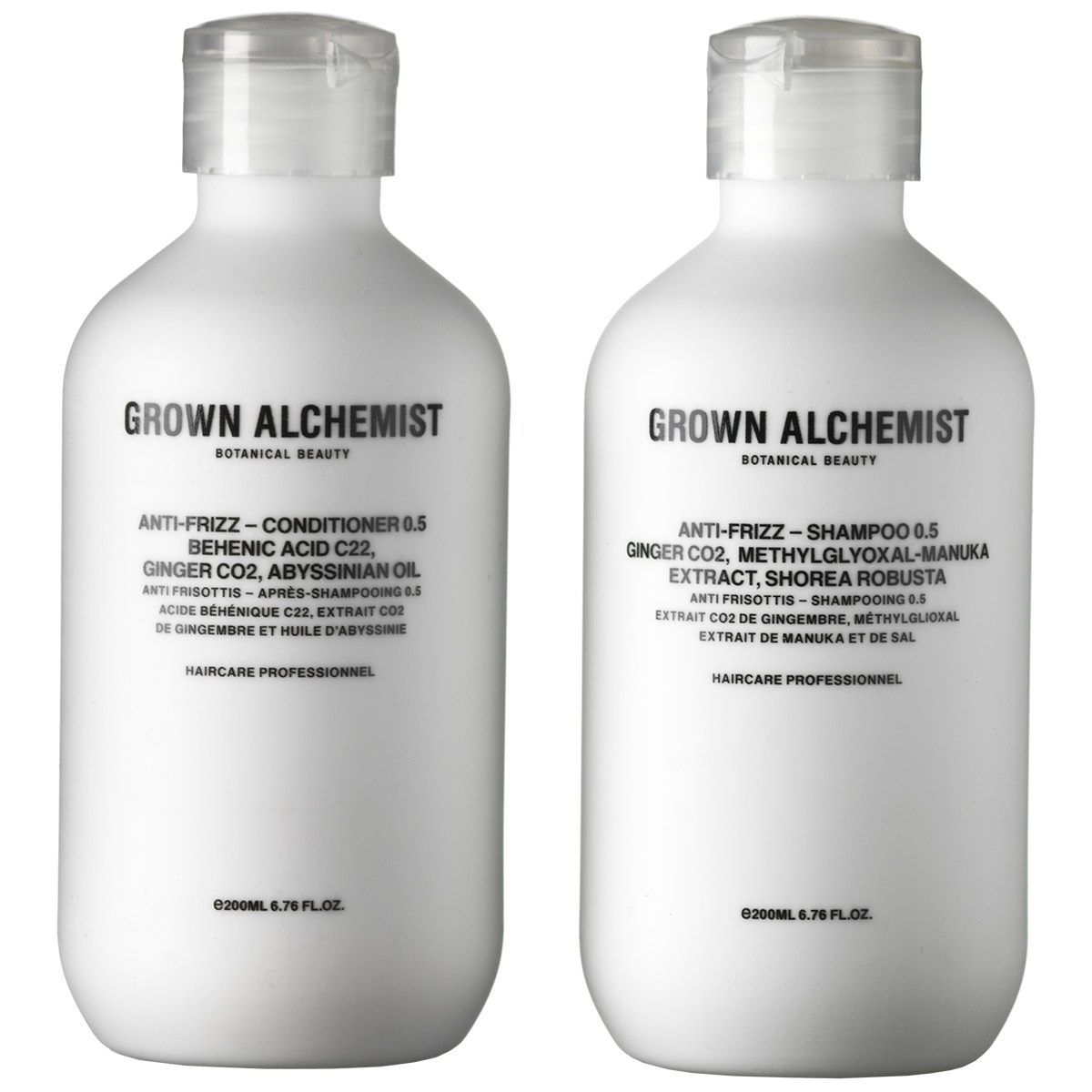 Image of   Grown Alchemist 0.5 Anti-Frizz Twin Sæt - 2 x 200 ml