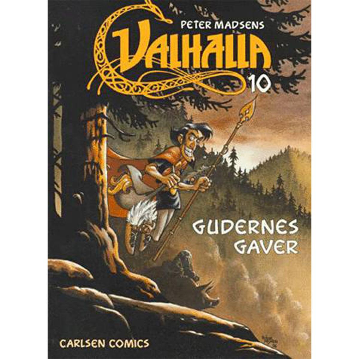Image of   Gudernes gaver - Valhalla 10 - Hæftet