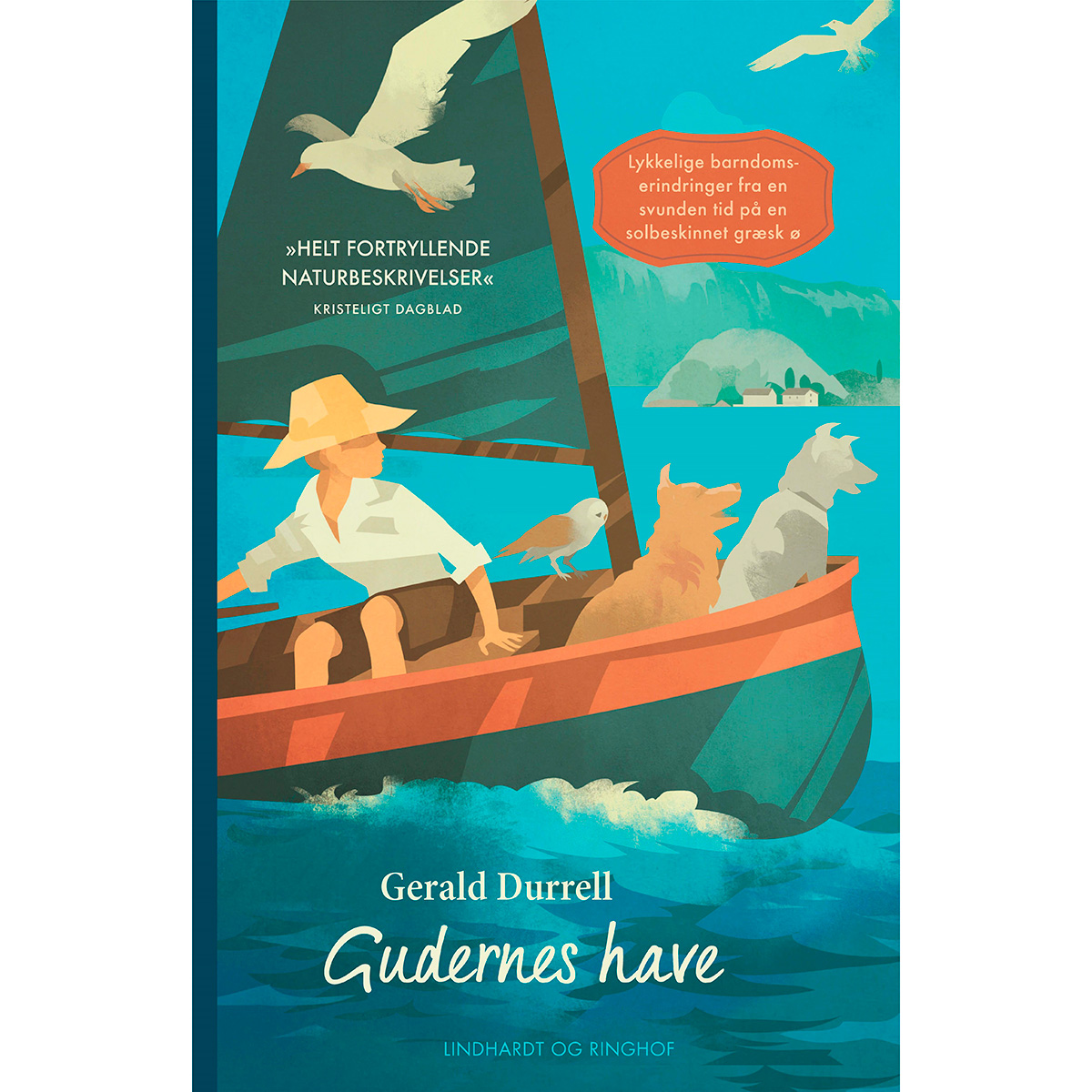 Gudernes have - Gerald Durrells erindringer 3 - Indbundet