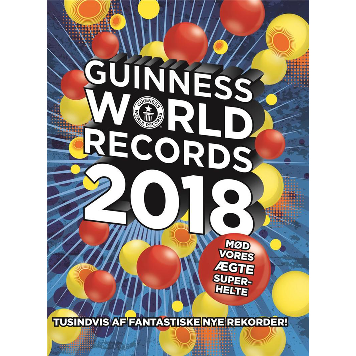 Image of   Guinness World Records 2018 - Indbundet