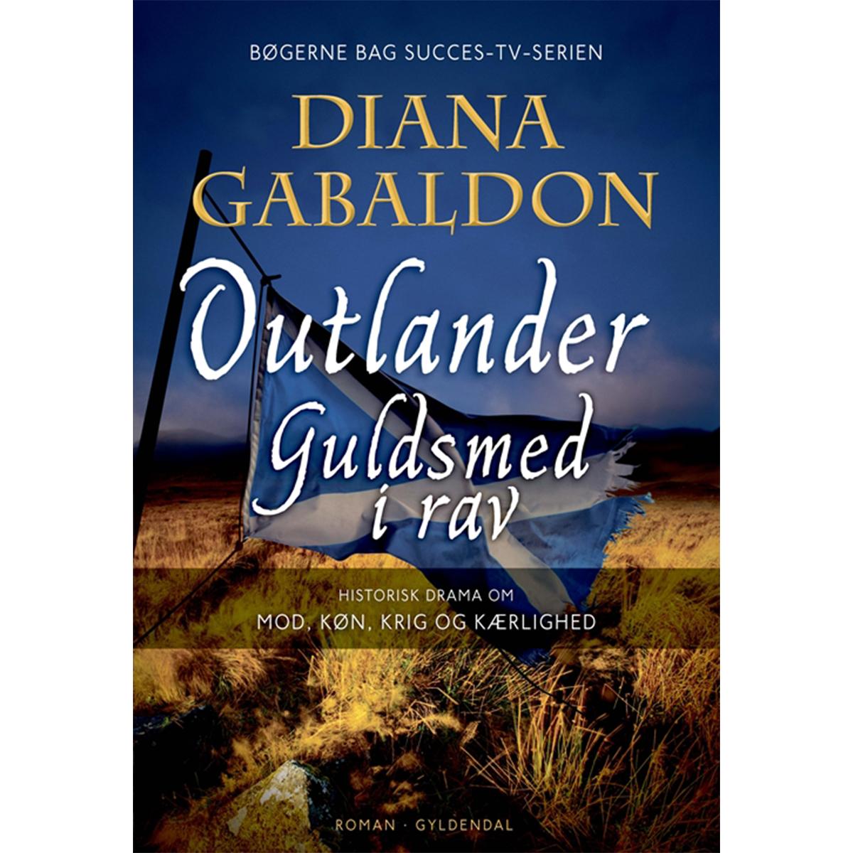 Image of   Guldsmed i rav - Outlander 2 - Indbundet