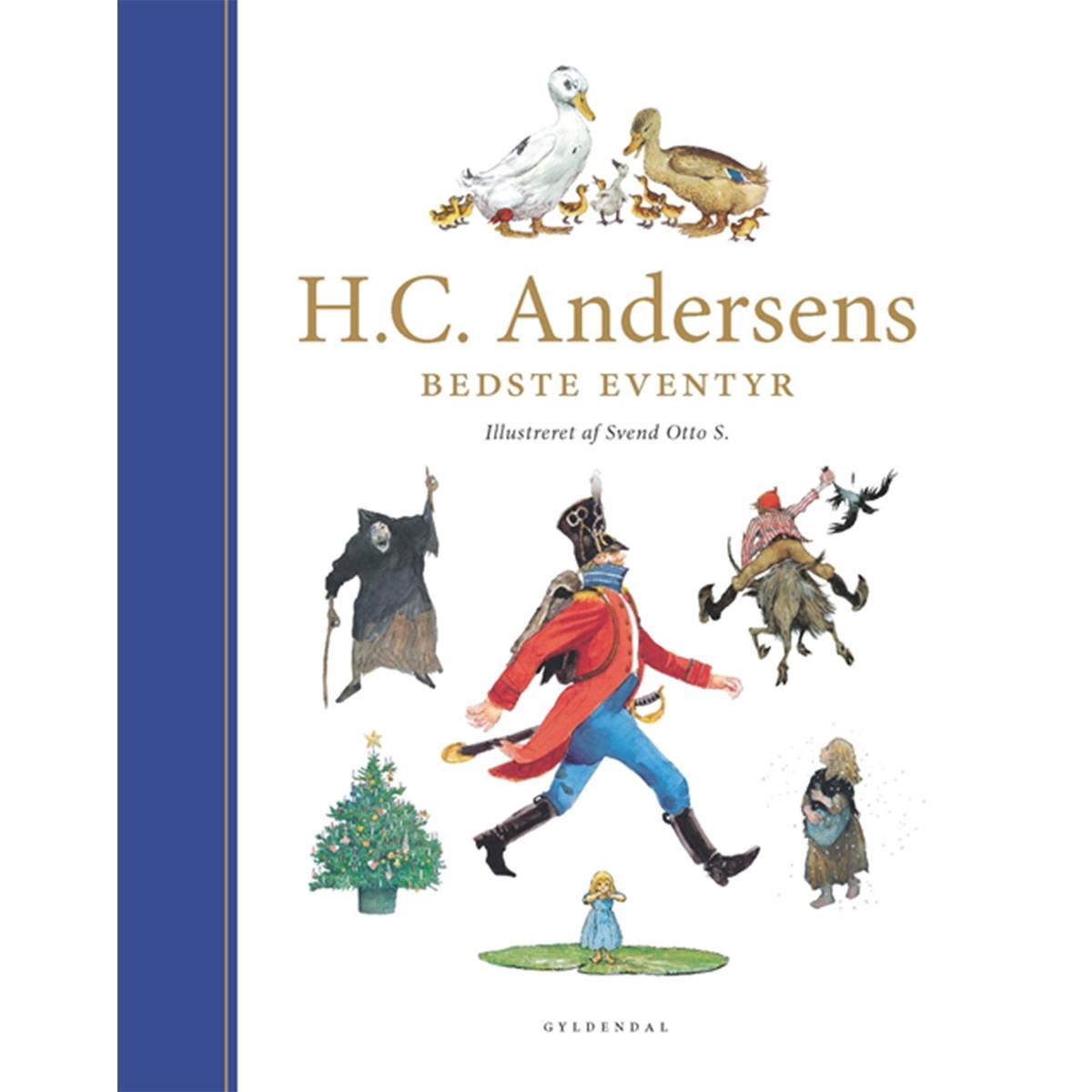 Image of   H. C. Andersens bedste eventyr - ill. af Svend Otto S - Indbundet