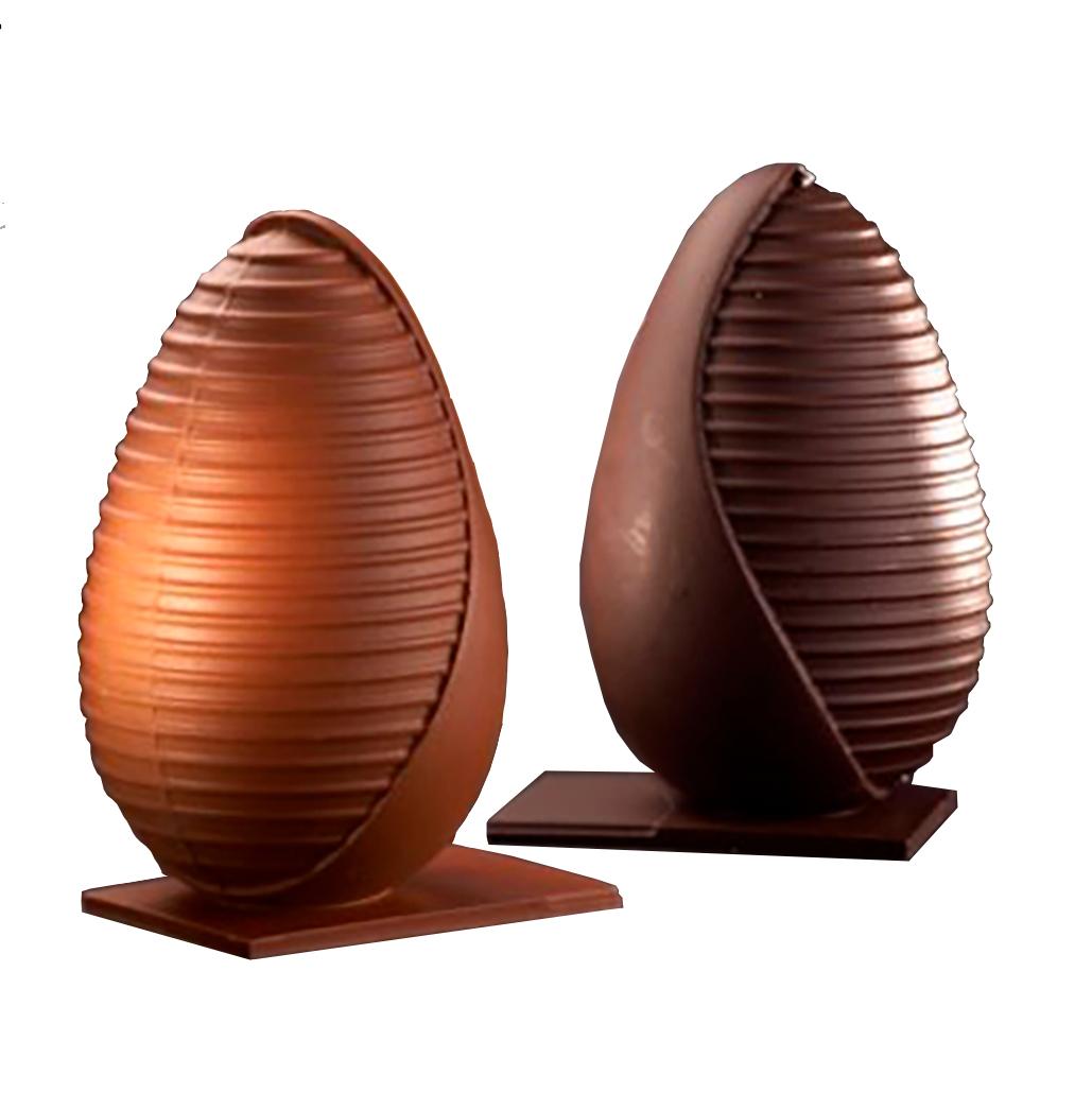 Image of   H. W. Larsen chokoladeforme - Pavoni
