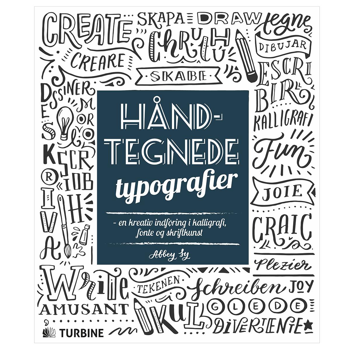 Image of   Håndtegnede typografier - Hæftet