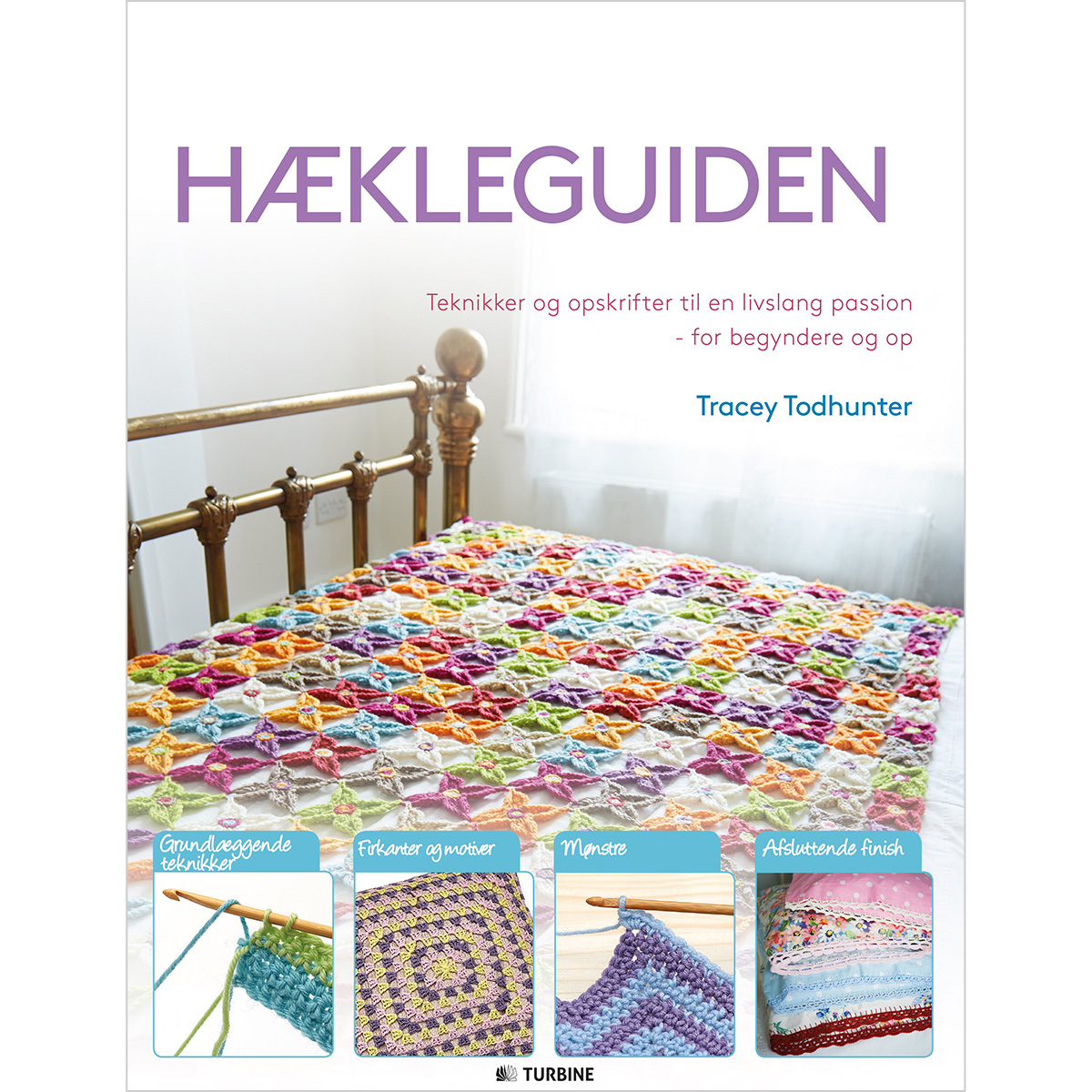 Image of   Hækleguiden - Hæftet