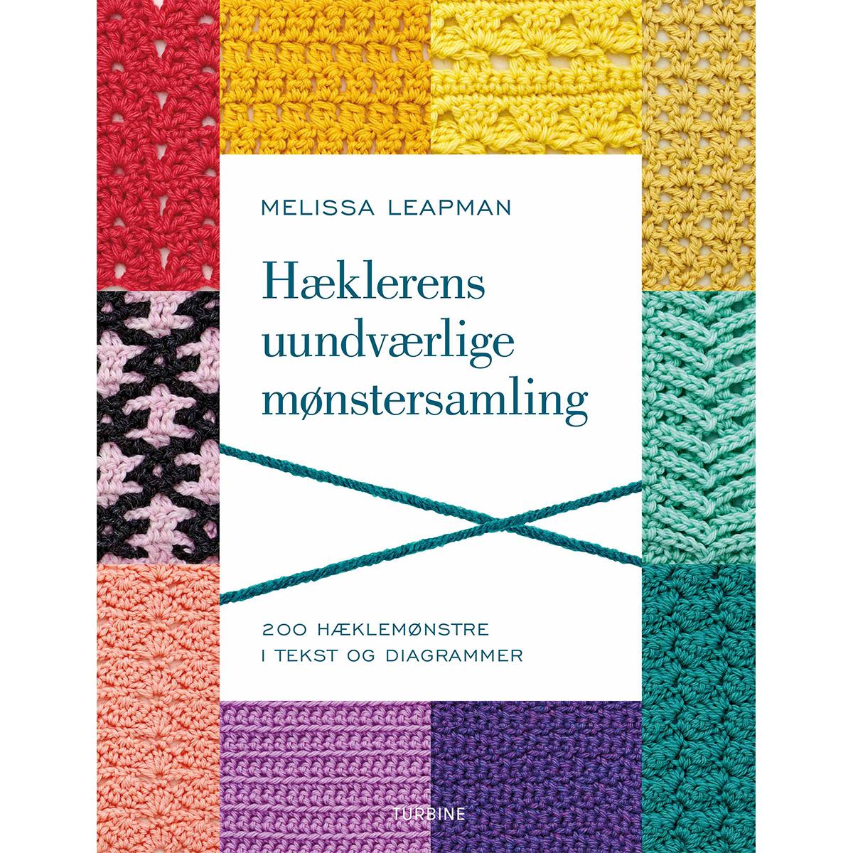 Image of   Hæklerens uundværlige mønstersamling - Hæftet