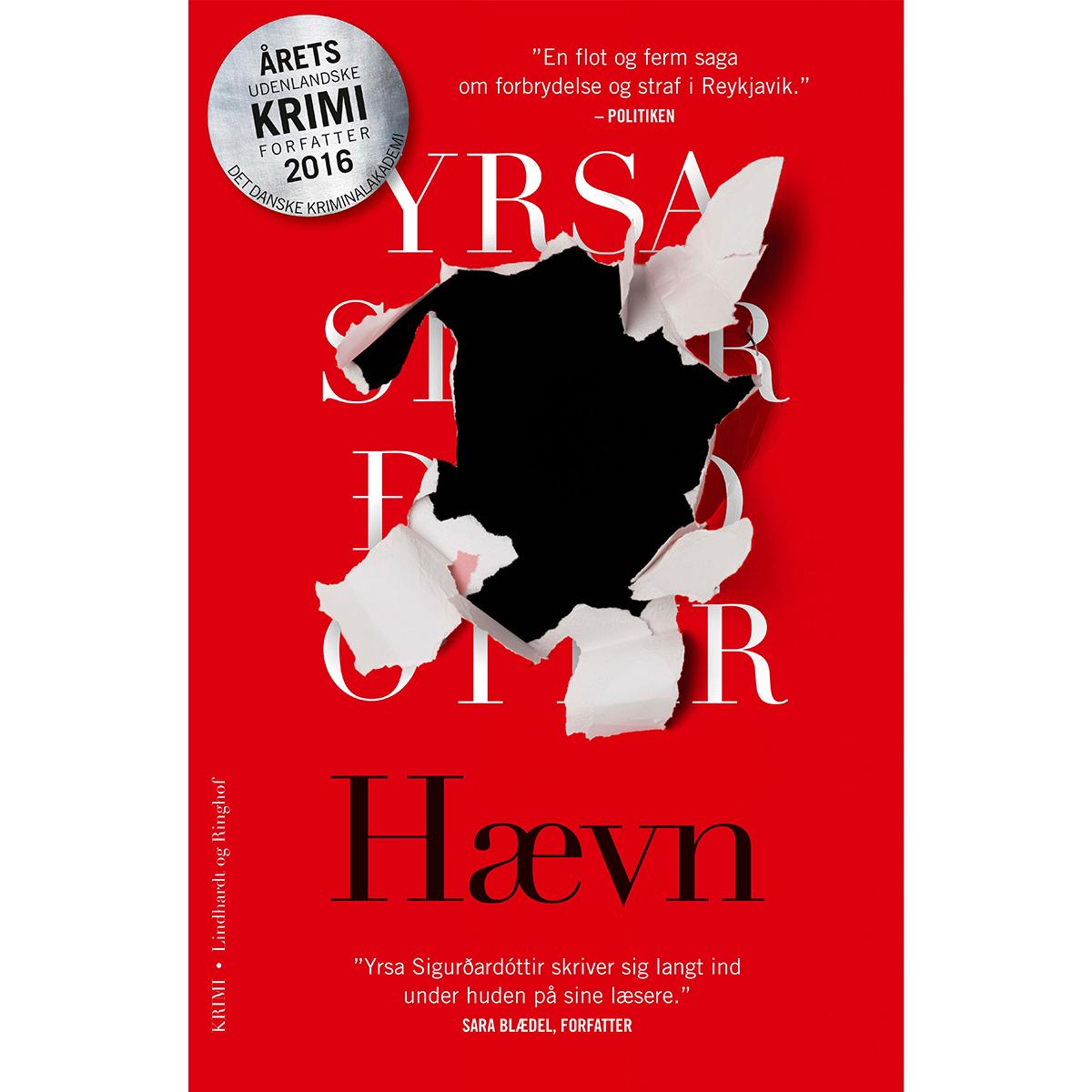 Hævn - Huldar & Freyja 2 - Paperback