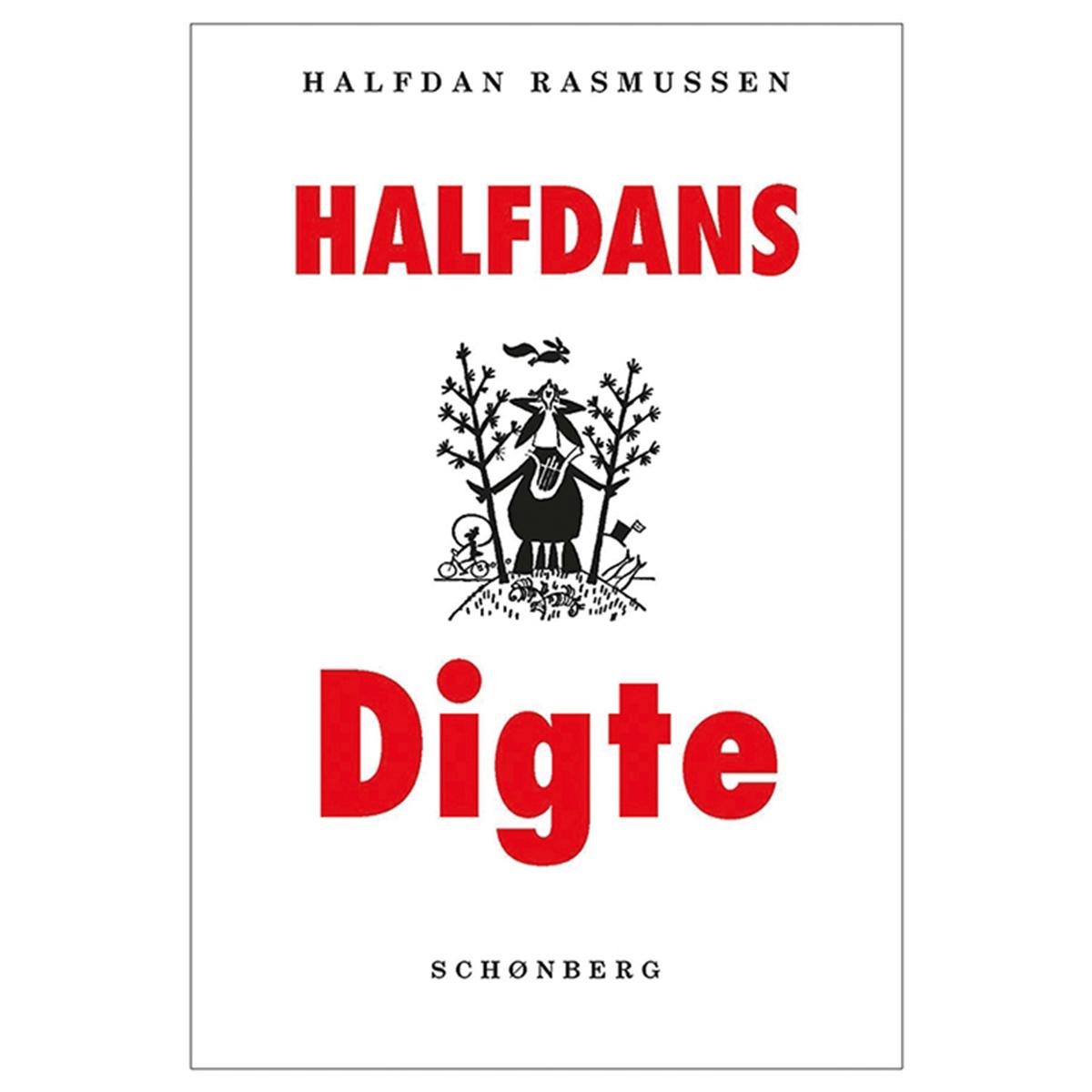 Image of   Halfdans digte - Indbundet