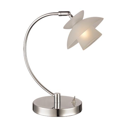 Image of   Halo Design bordlampe - Mini Safir - Opal/krom