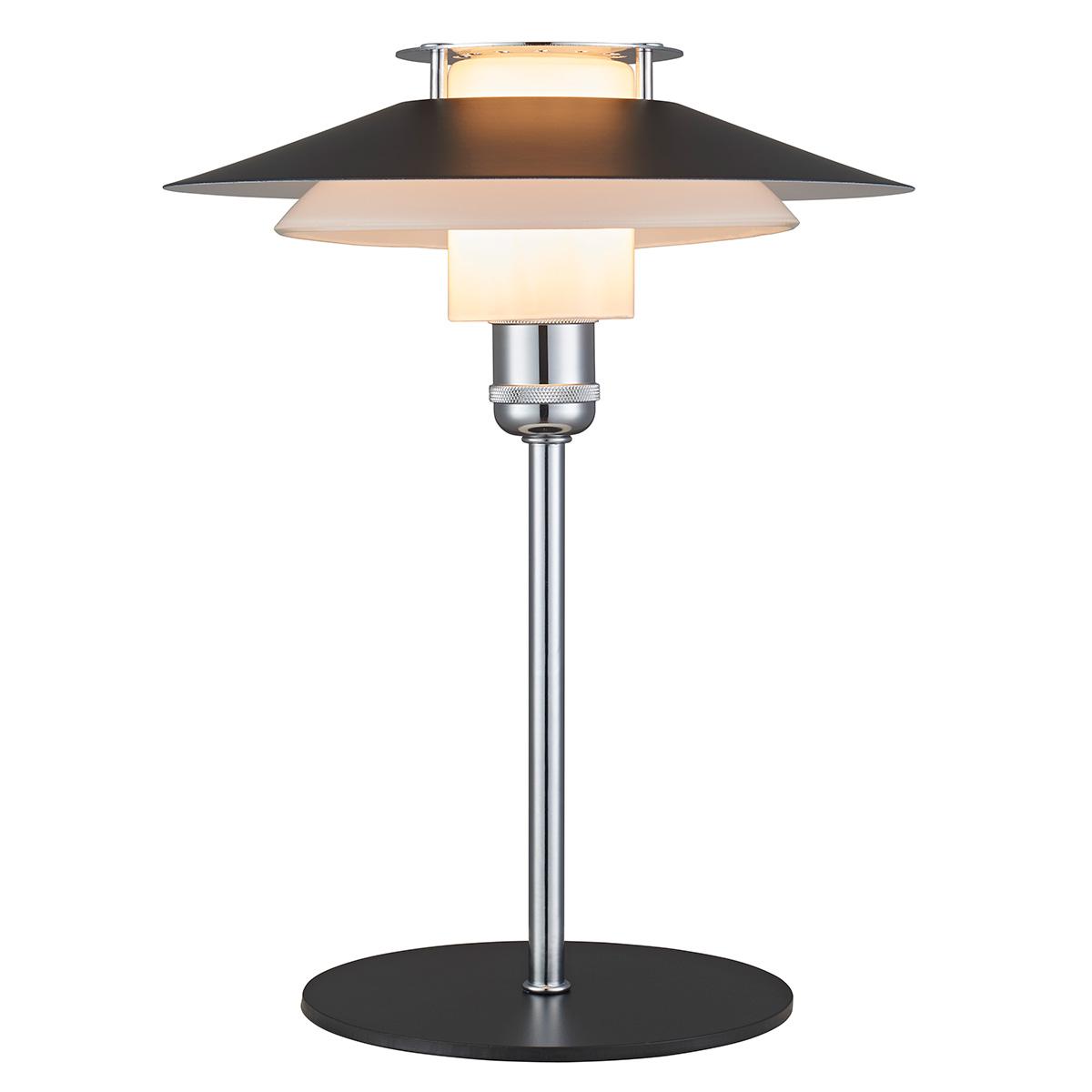 Image of   Halo Design bordlampe - Rivalto - Sort/krom