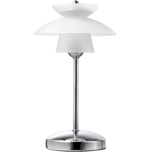 Image of   Halo Design bordlampe - Safir - Hvid/metal