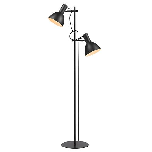 Halo Design gulvlampe - Baltimore - Sort