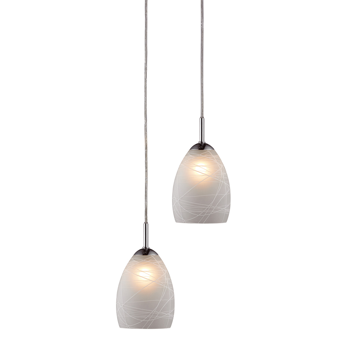 Image of   Halo Design pendelsæt - Winner - Hvid