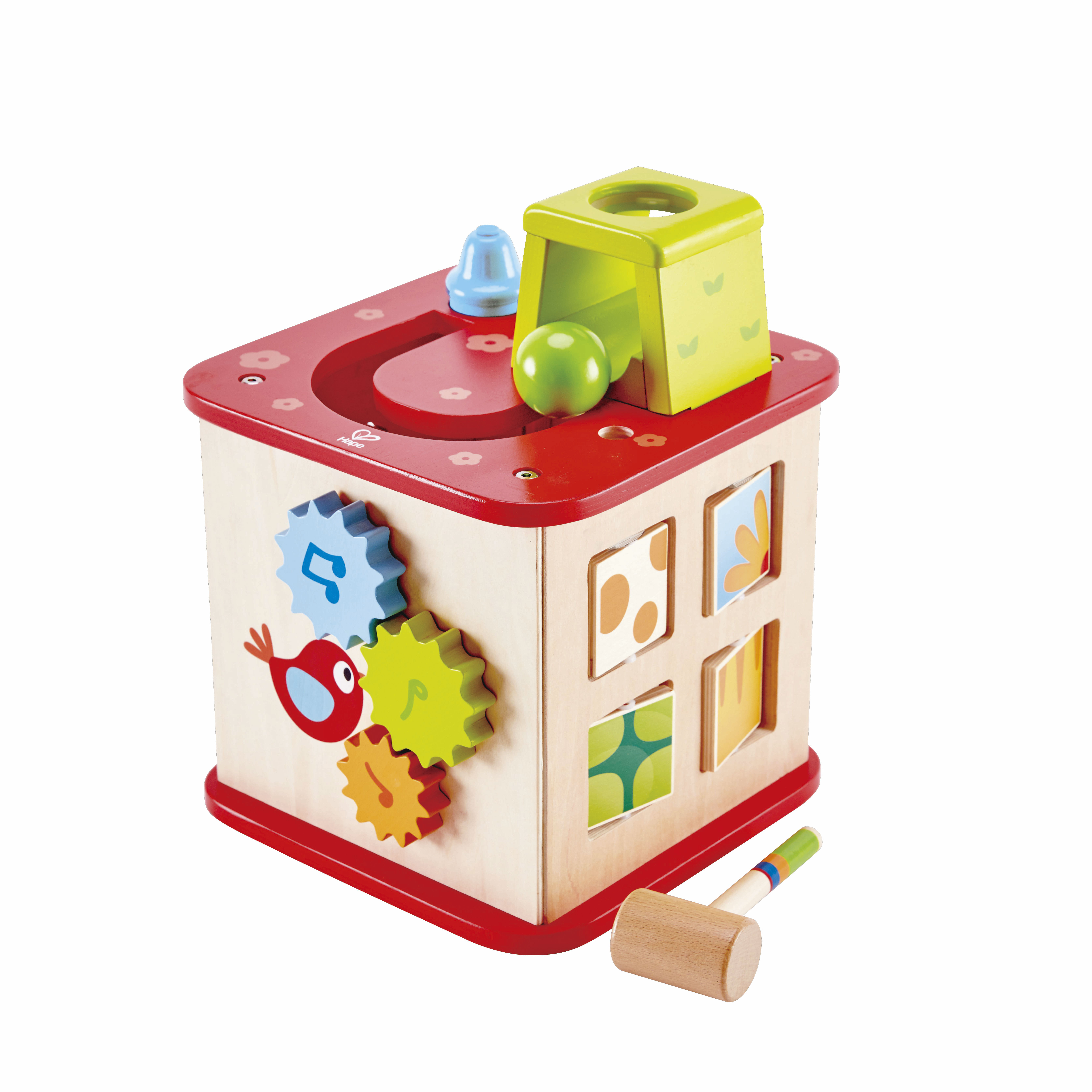 Image of   Hape aktivitetskasse - Friendship Activity Cube