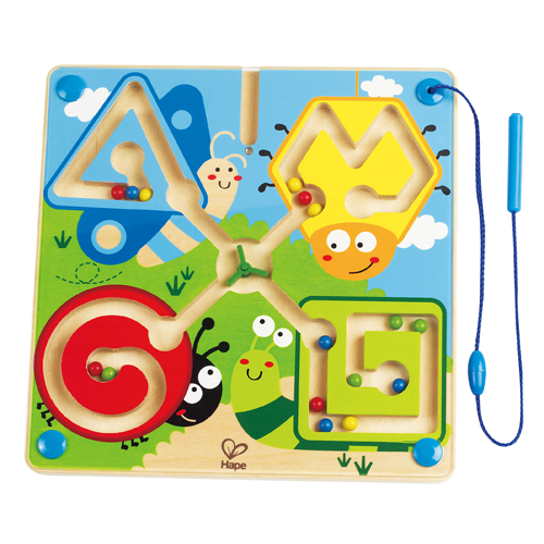 Image of   Hape labyrint - Best Bugs Magnetic Maze