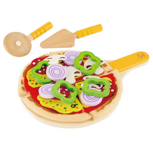 Hape legemad - hjemmelavet pizza