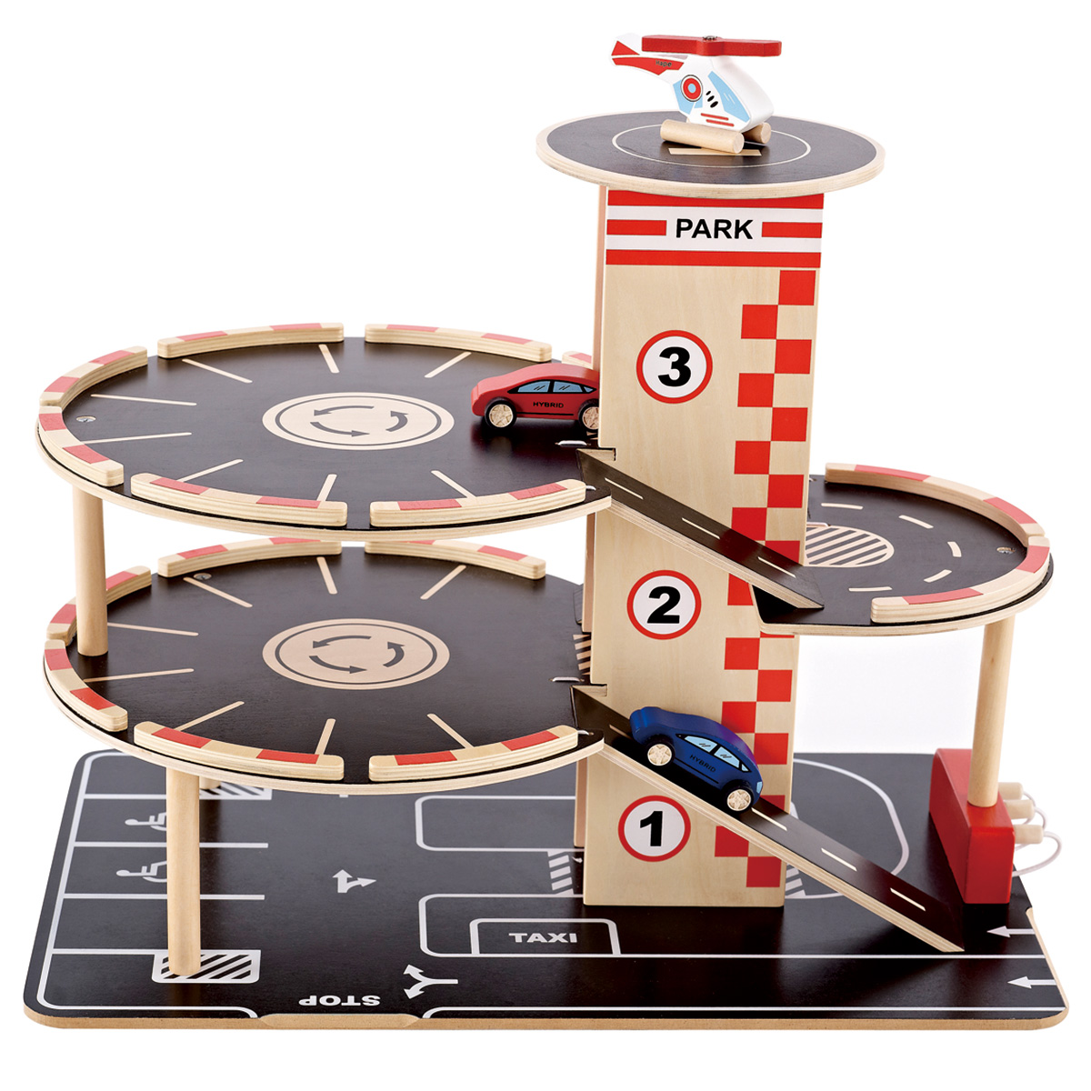 Image of   Hape parkeringshus med biler - Park & Go Garage