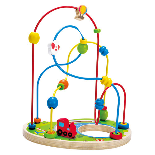 Image of   Hape perle-labyrint - Playground Pizzaz