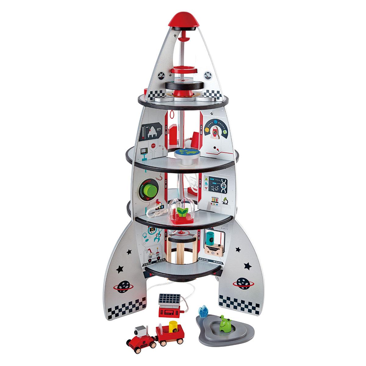 Image of   Hape rumstation - Four-Stage Rocket Ship