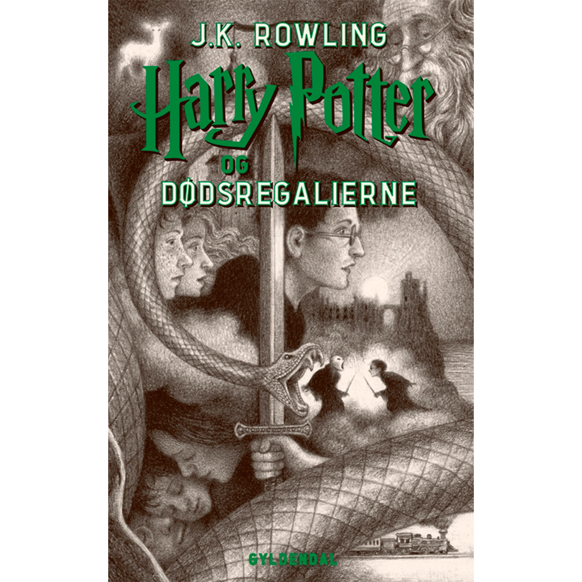 Harry Potter og dødsregalierne - Harry Potter 7 - Hæftet