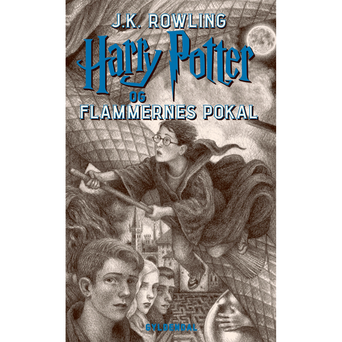 Harry Potter og flammernes pokal - Harry Potter 4 - Hæftet
