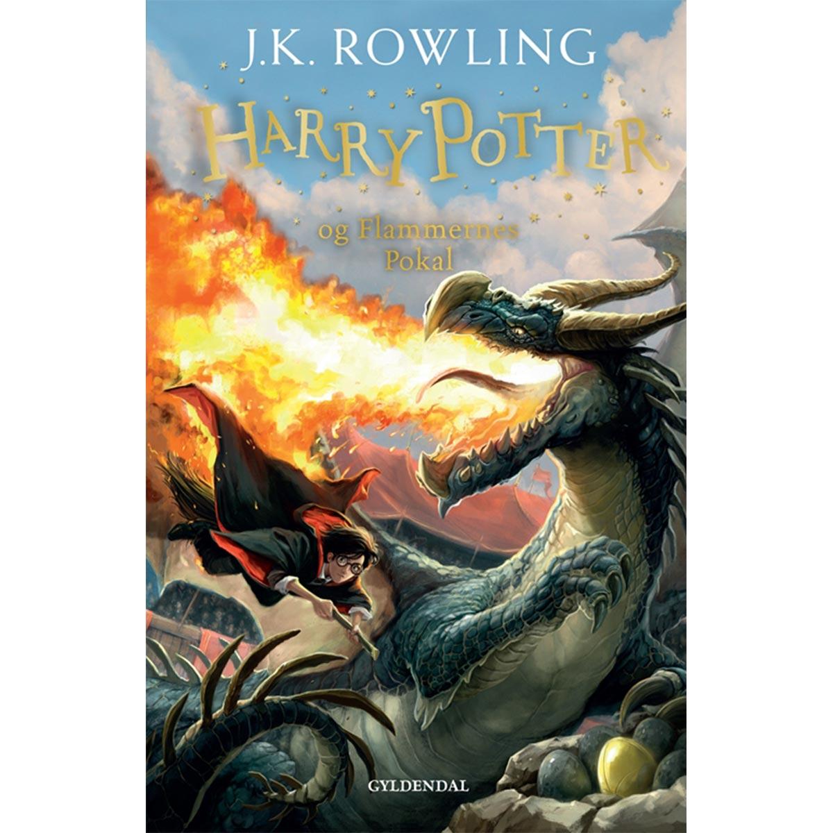 Harry Potter og Flammernes Pokal - Harry Potter 4 - Indbundet