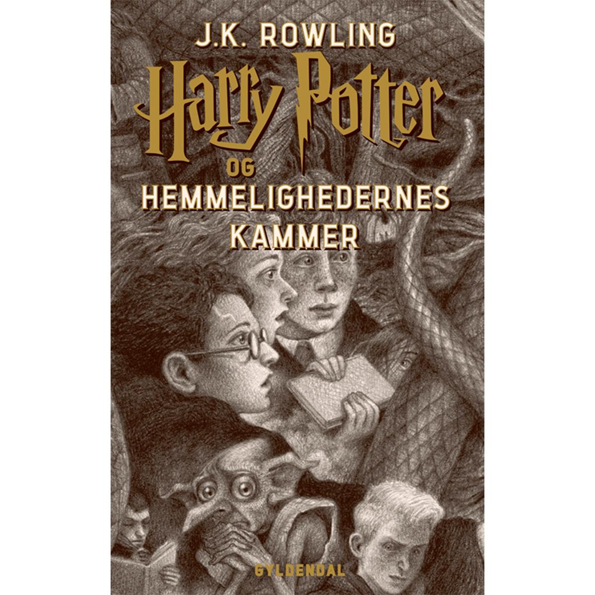 Harry Potter og hemmelighedernes kammer - Harry Potter 2 - Hæftet