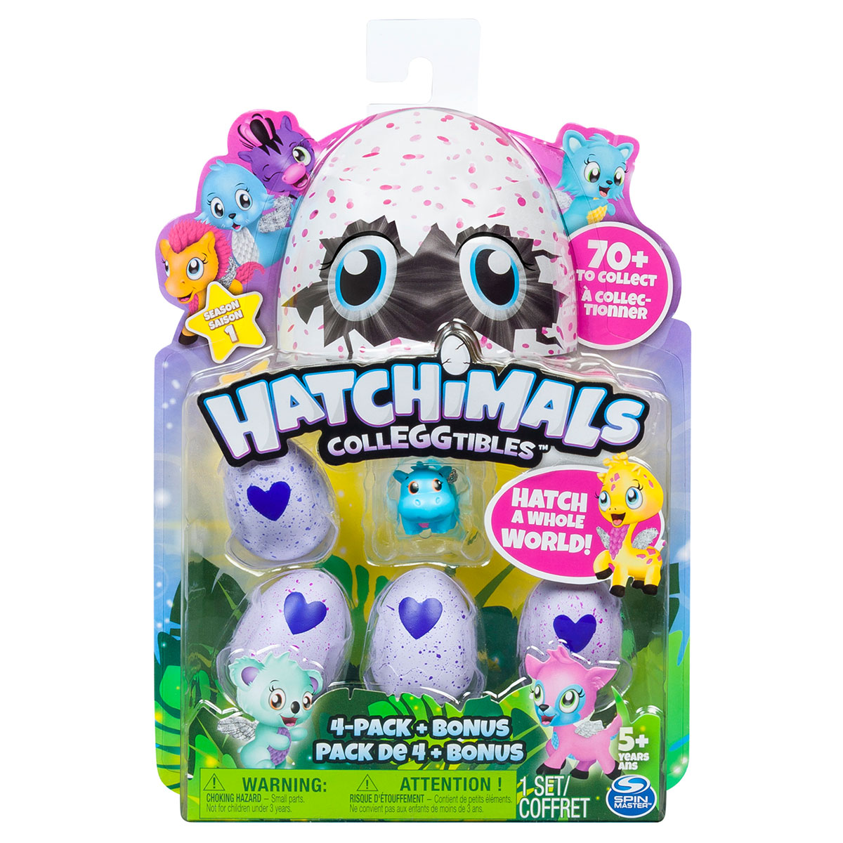 Image of   Hatchimals Colleggtibles figurer - 4-pak