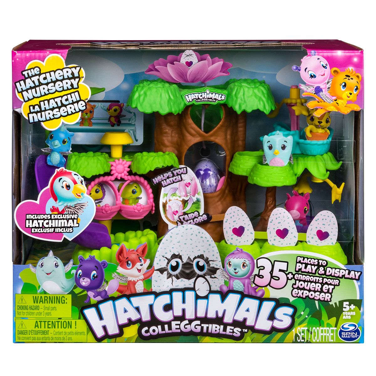 Image of   Hatchimals Colleggtibles legesæt - The Hatchery Nursery